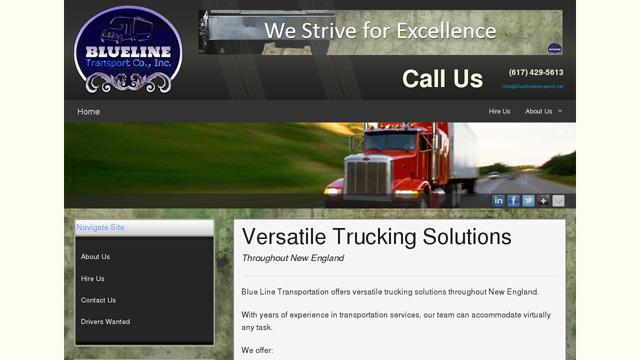 Blue Line Transportation Co., Inc.